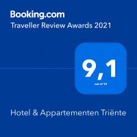 Triënte - Book.com award 2021